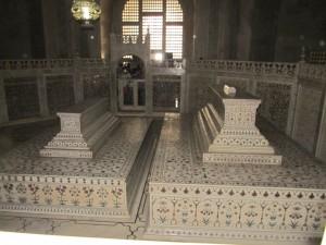 タージ・マハルのレプリカの棺