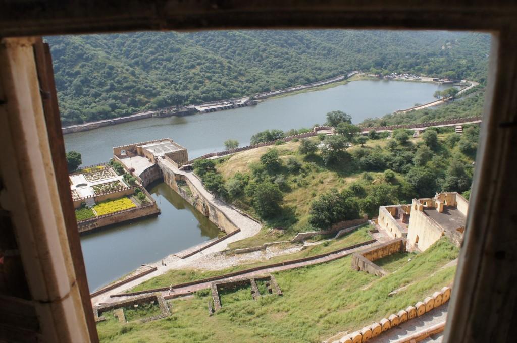 アンベール城の頂上から見た風景