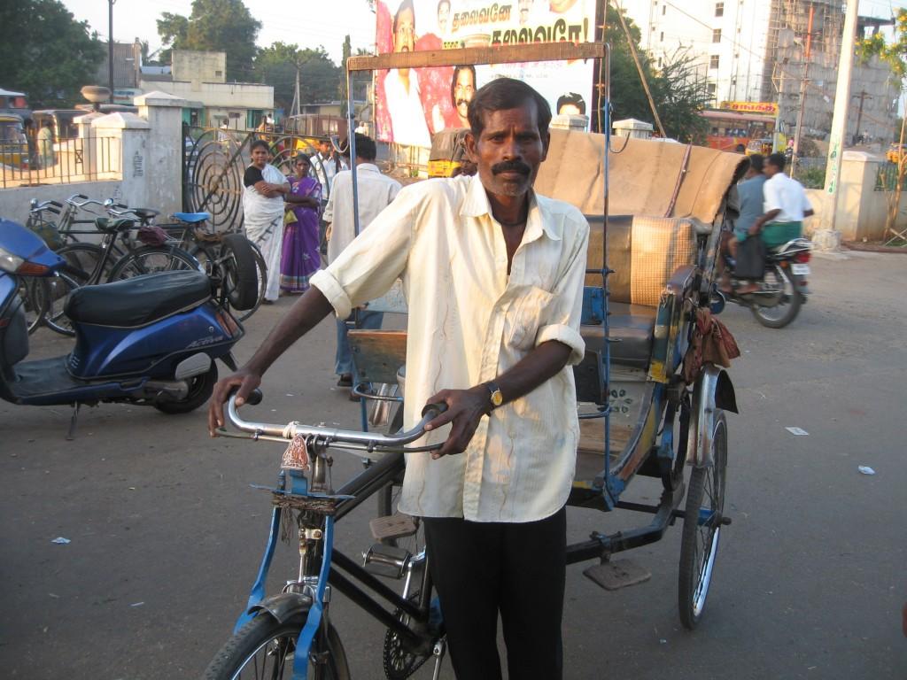 人の良さそうなインド人男性