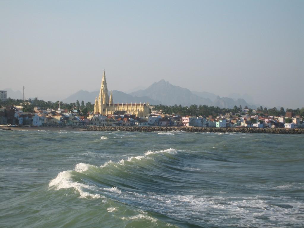 インド最南端の海