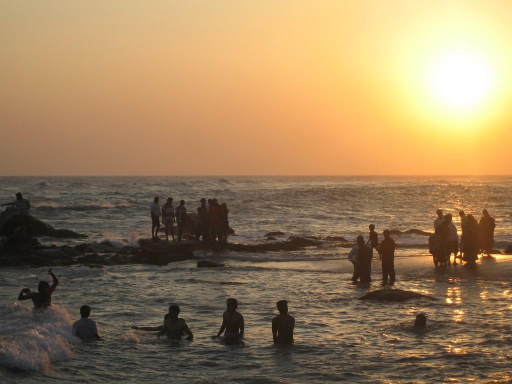 コモリン岬の夕陽