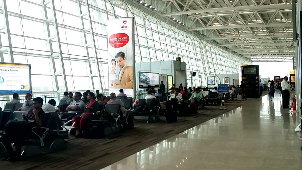 チェンナイ空港 搭乗口