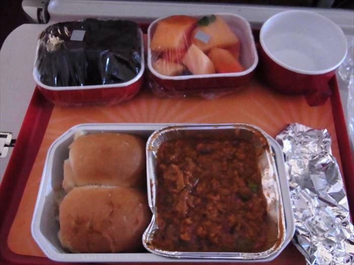 エアインディア 機内食
