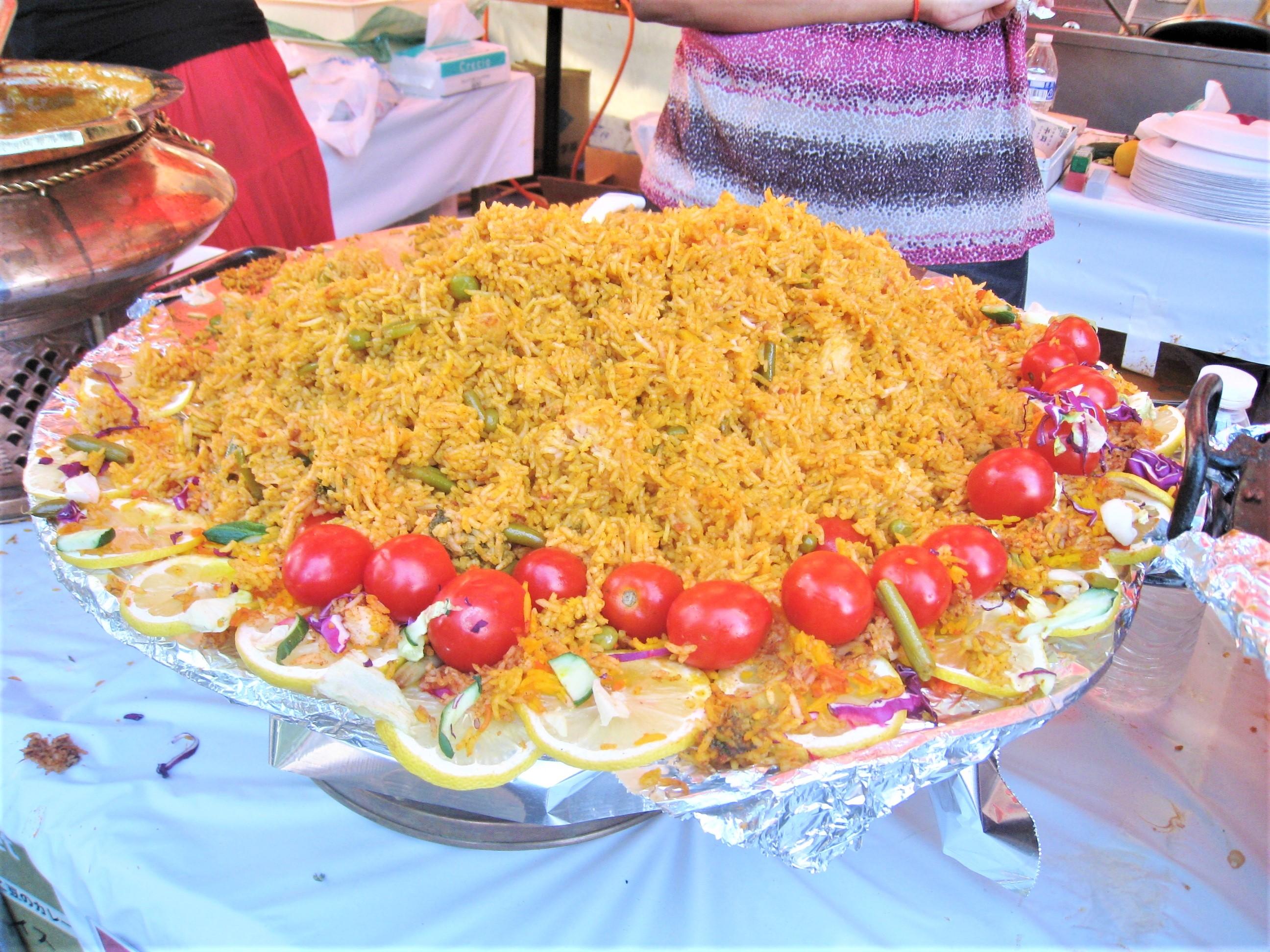 世界三大炊き込みご飯のビリヤニ