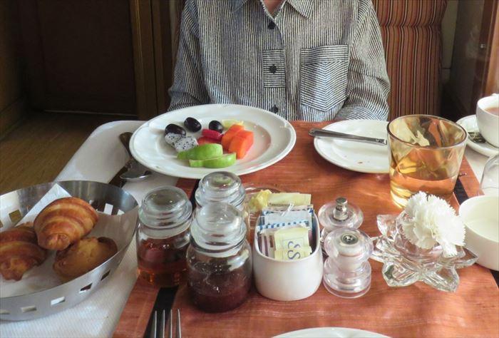 デカンオデッセイ 朝食