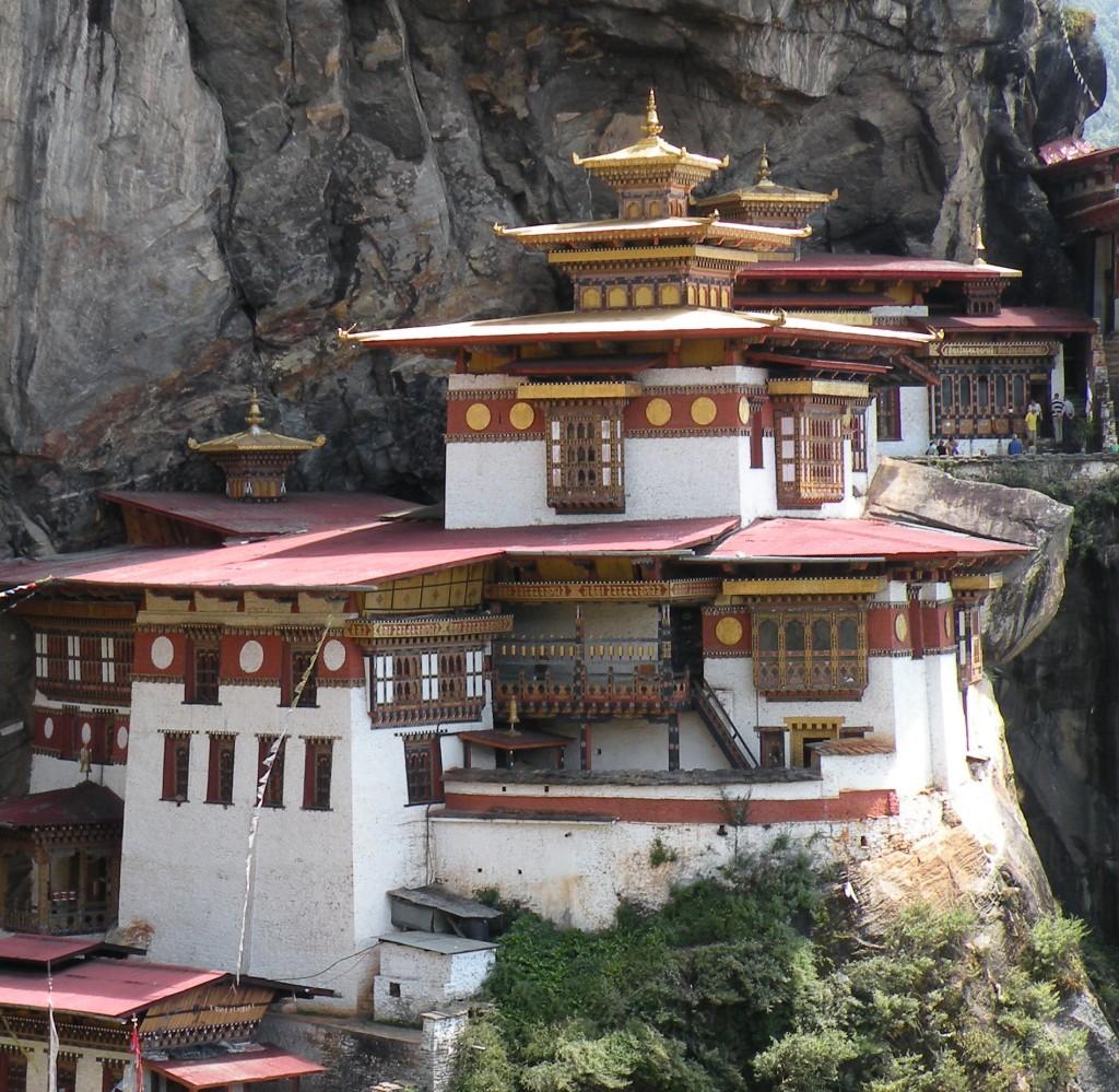 ブータンのタクtァン僧院