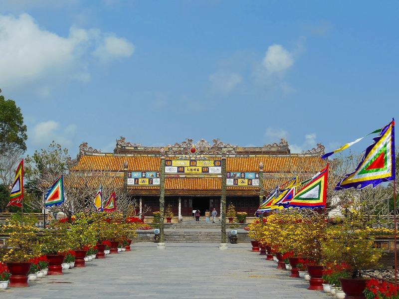 ベトナム フエ 王宮