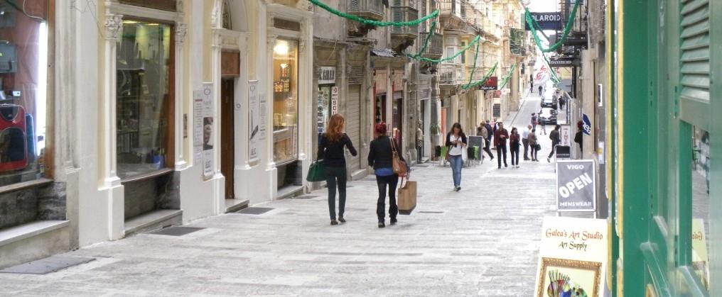 マルタ島のヴァレッタ旧市街