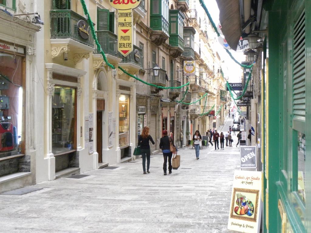 ヴァレッタ旧市街