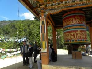 タクツァン僧院の第一展望台
