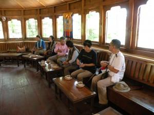 第一展望台にあるカフェ