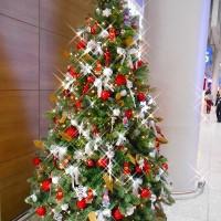 キラキラなクリスマスツリー