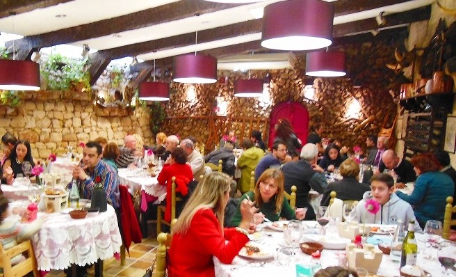 マルタ島のレストラン