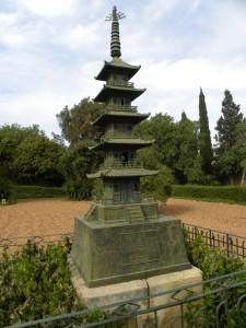 サンアントンガーデンの五重塔