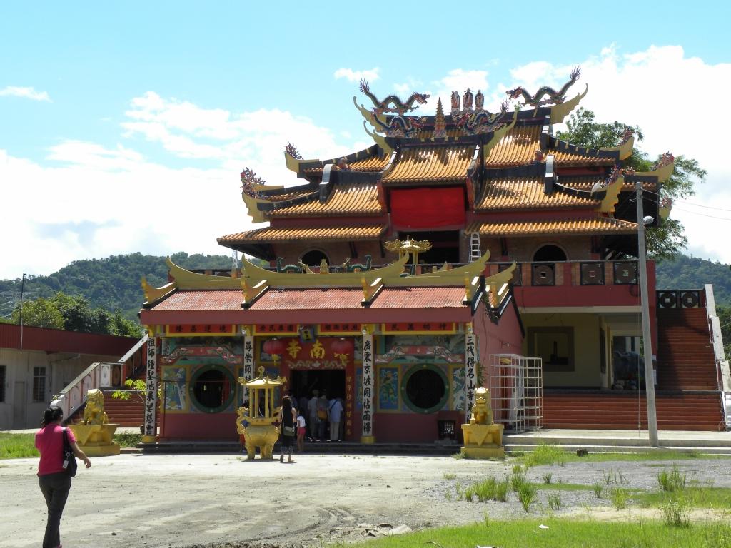 北ボルネオ鉄道 中国寺院