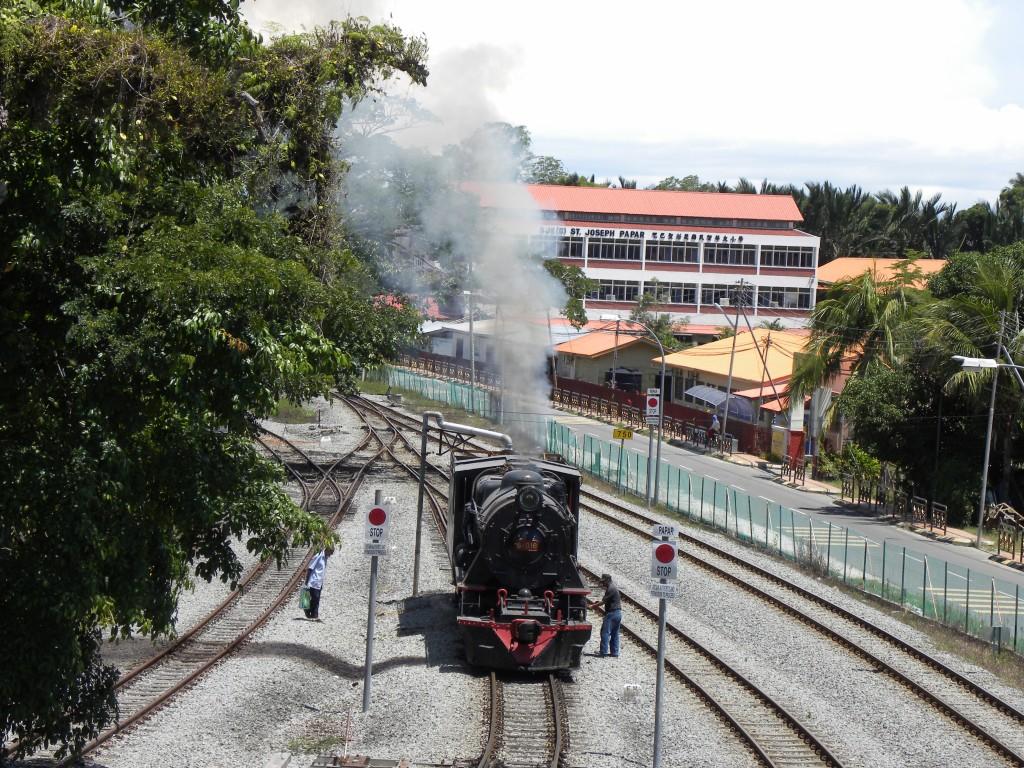 北ボルネオ鉄道 パパール