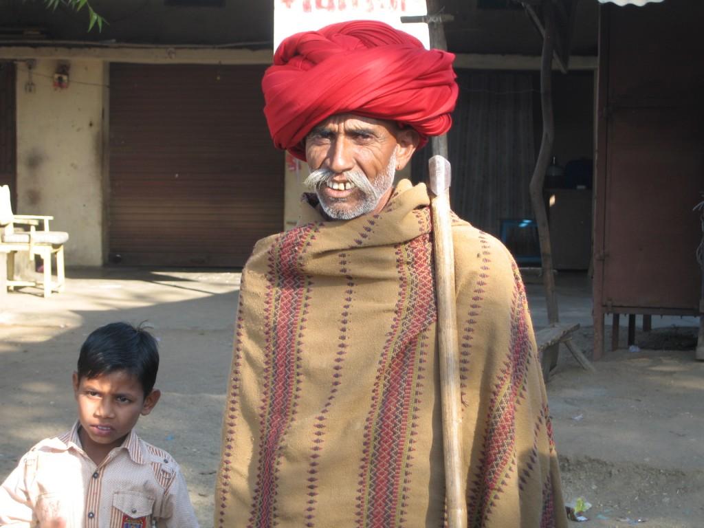 グジャラート マルワリ・ラバリ族の男性