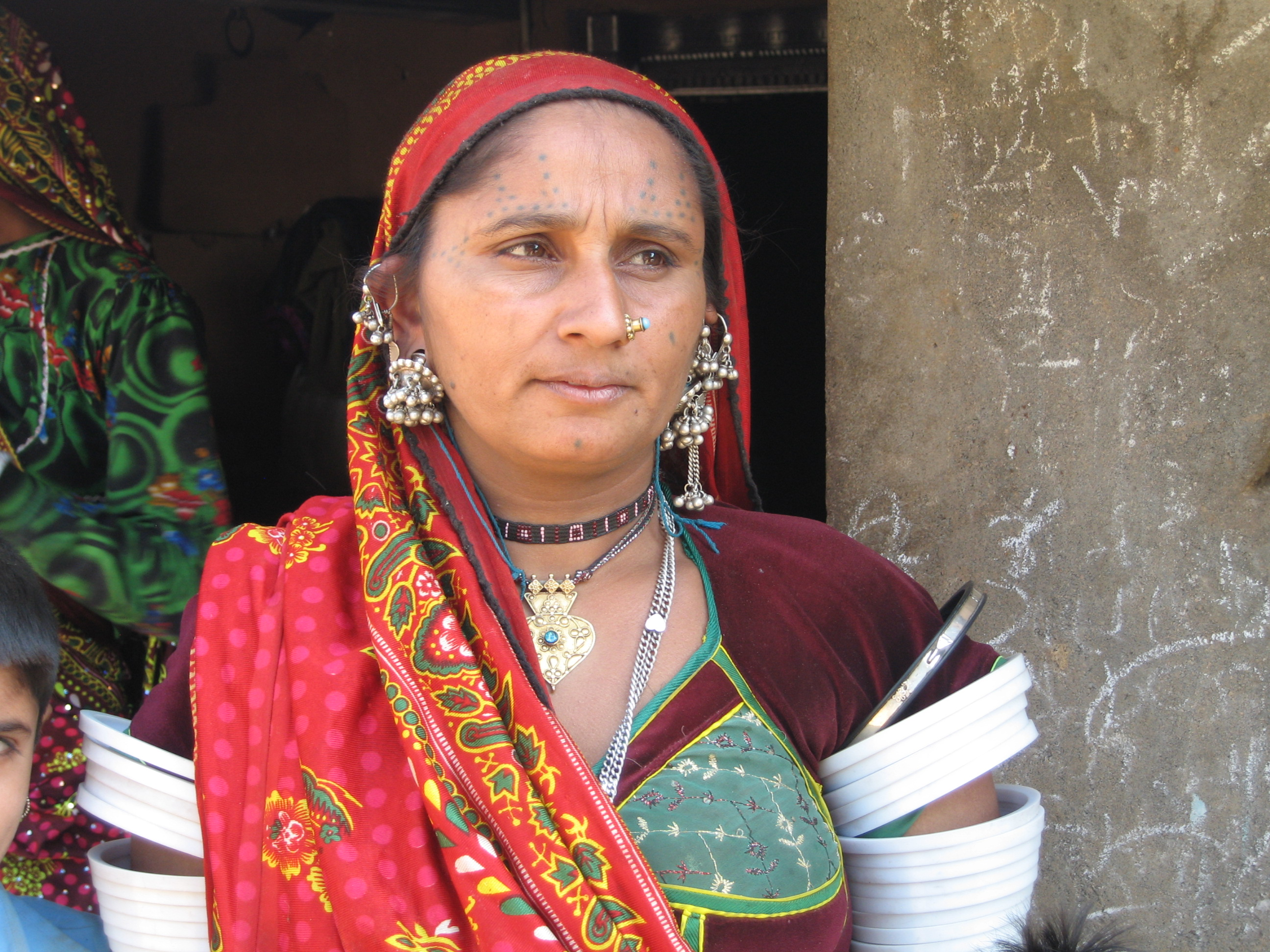 グジャラート マルワリ・ラバリ族の女性