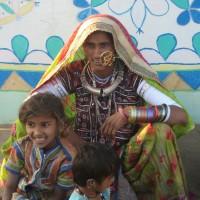 グジャラート メグワル族の女性