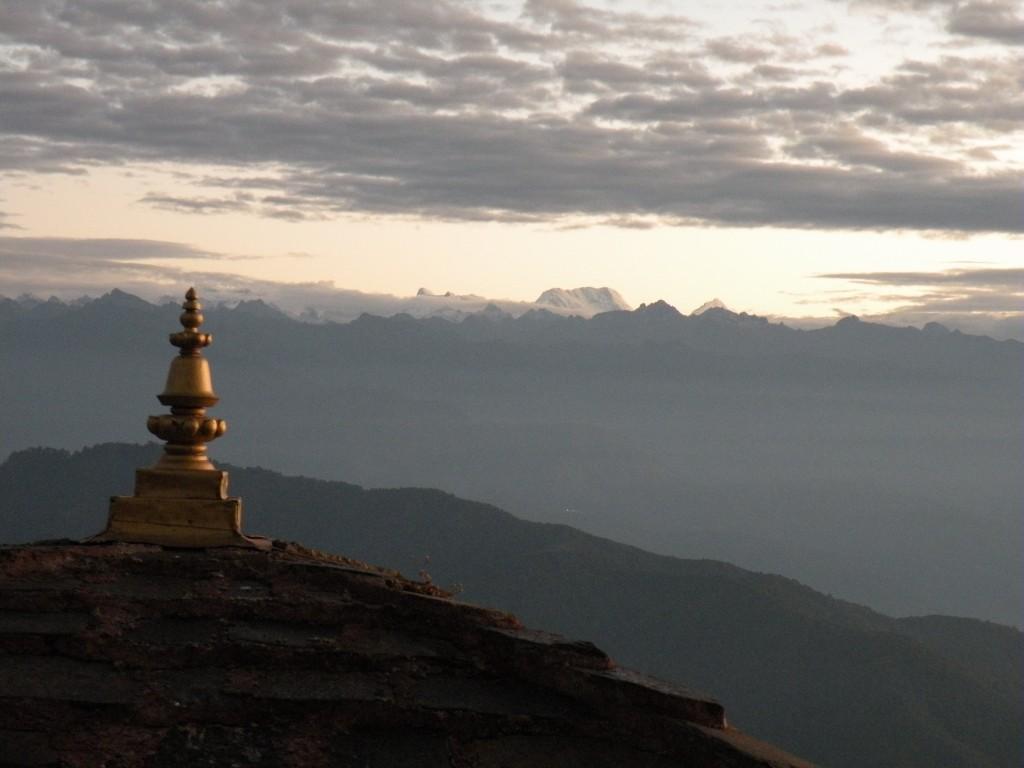 ブータン ドチュラ付近の眺望
