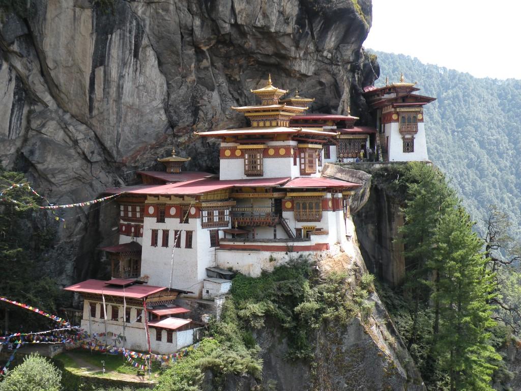 ブータン タクツァン僧院