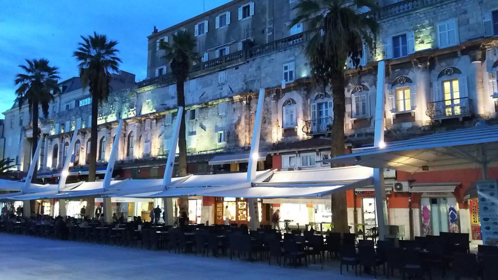 クロアチアの世界遺産 スプリト旧市街