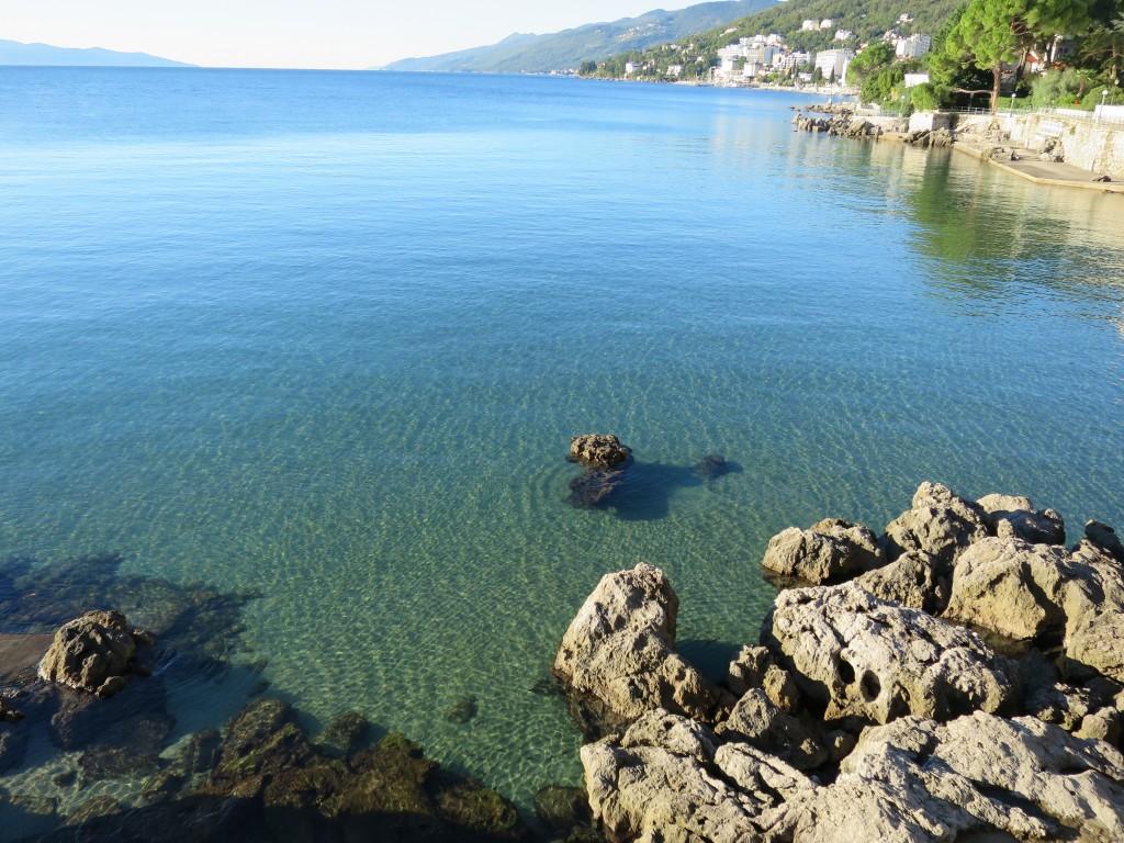 クロアチアの美しい海