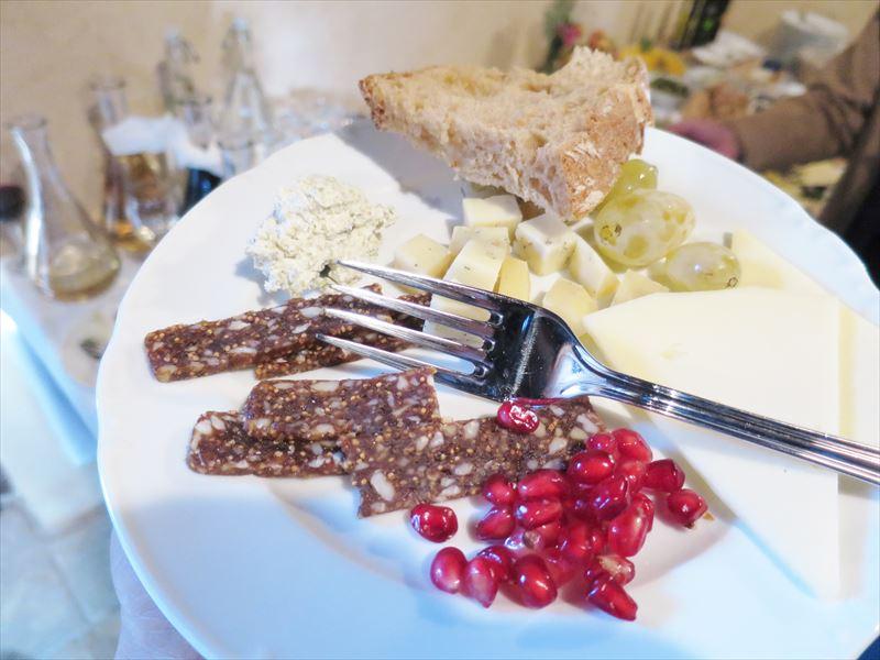 ダルマチアの伝統的な食べ物 クロアチアの食事