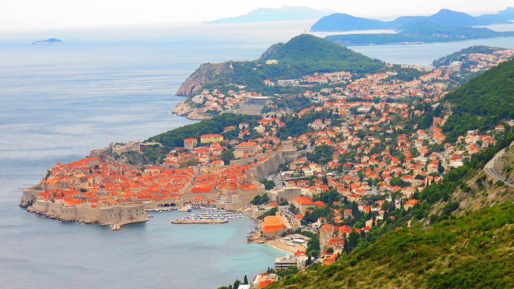 クロアチアの世界遺産 ドブロブニク旧市街