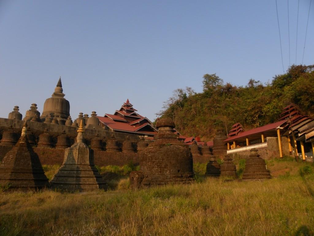 ミャンマー ミャウー アラカン王国遺跡