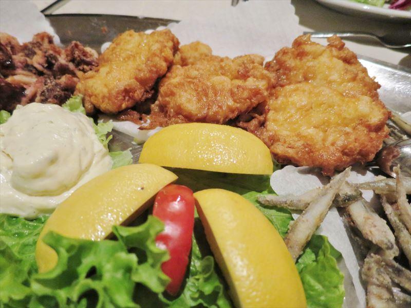 白身魚のフライなど