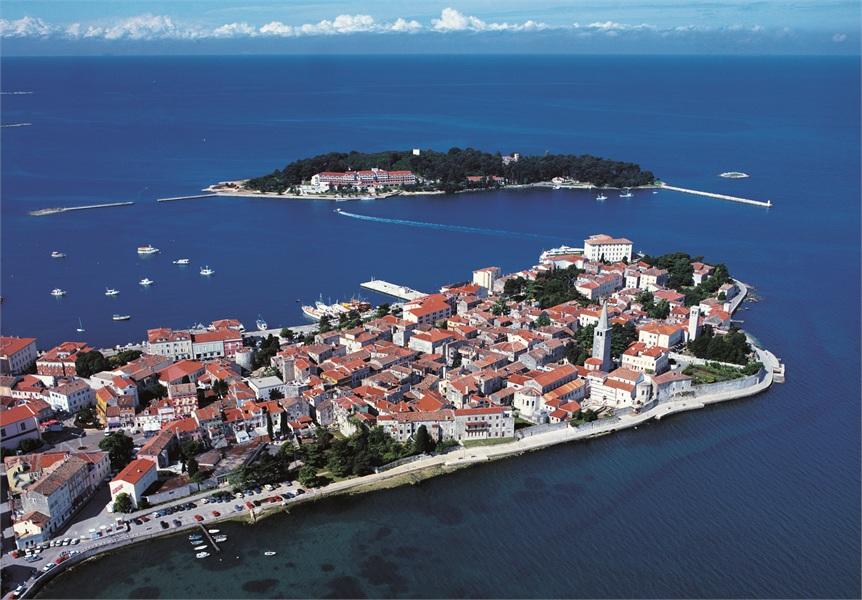 クロアチアの世界遺産 ポレチュ