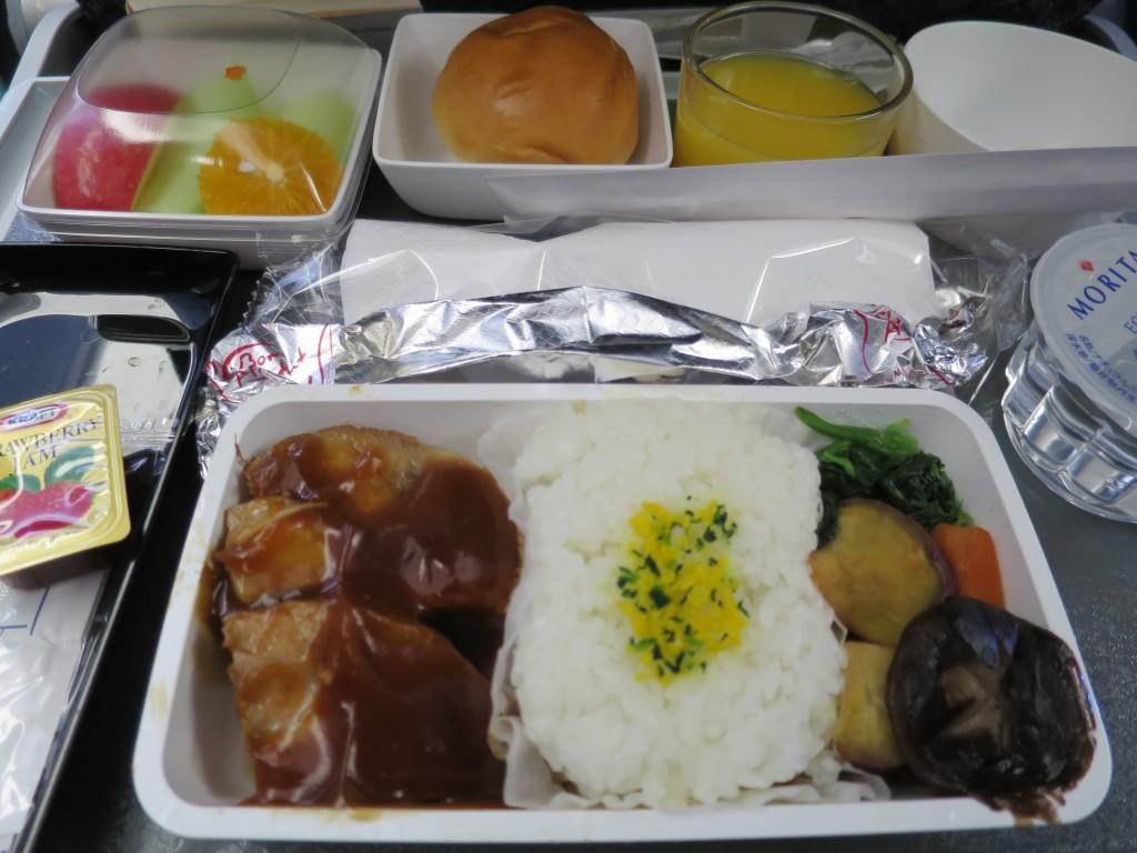 シンガポール航空の機内食