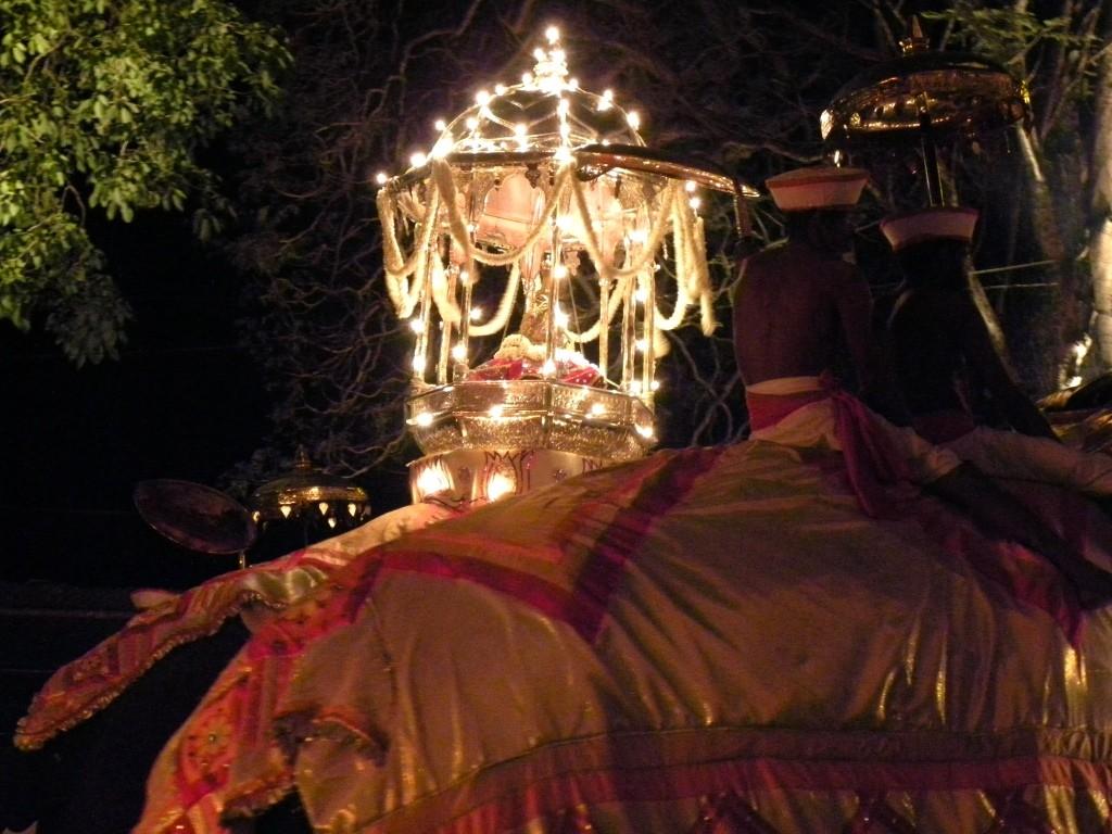 ペラヘラ祭り・仏歯はゾウの背中でゆらゆらと♪