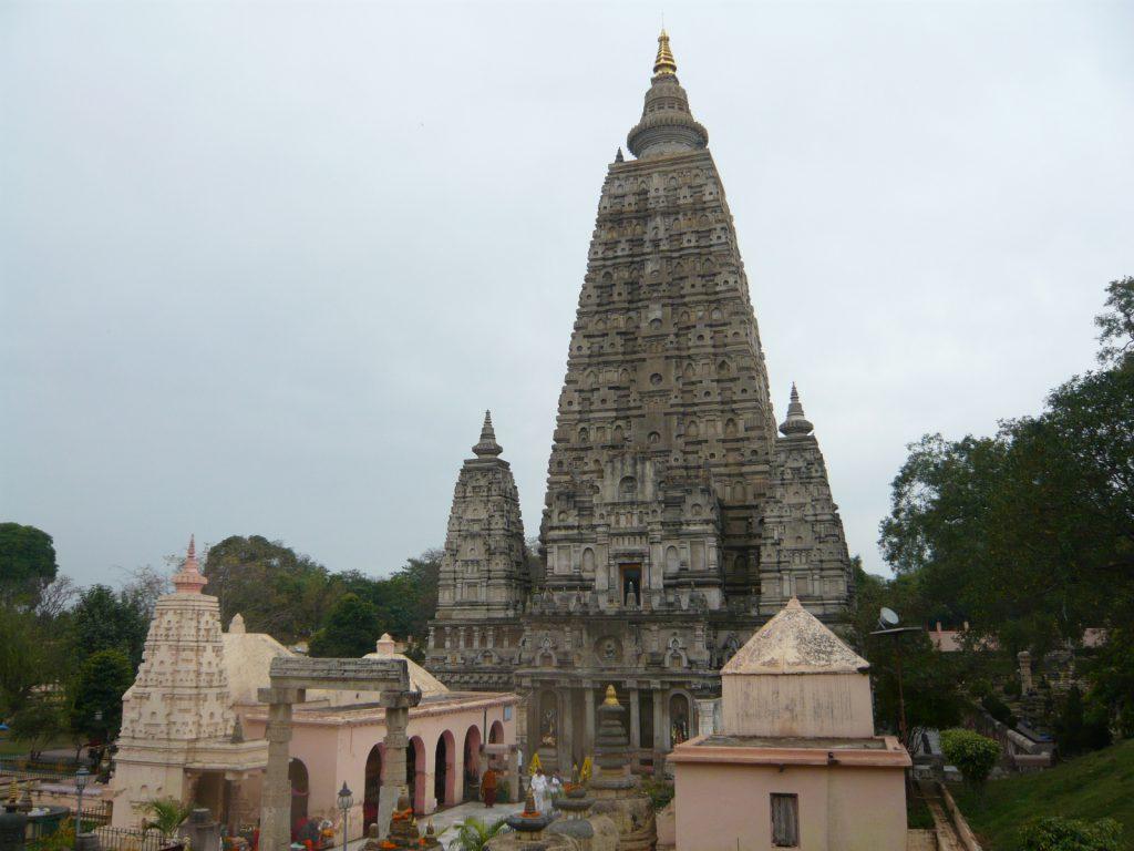 ブッダガヤのマハーボディ寺院(大菩提寺)