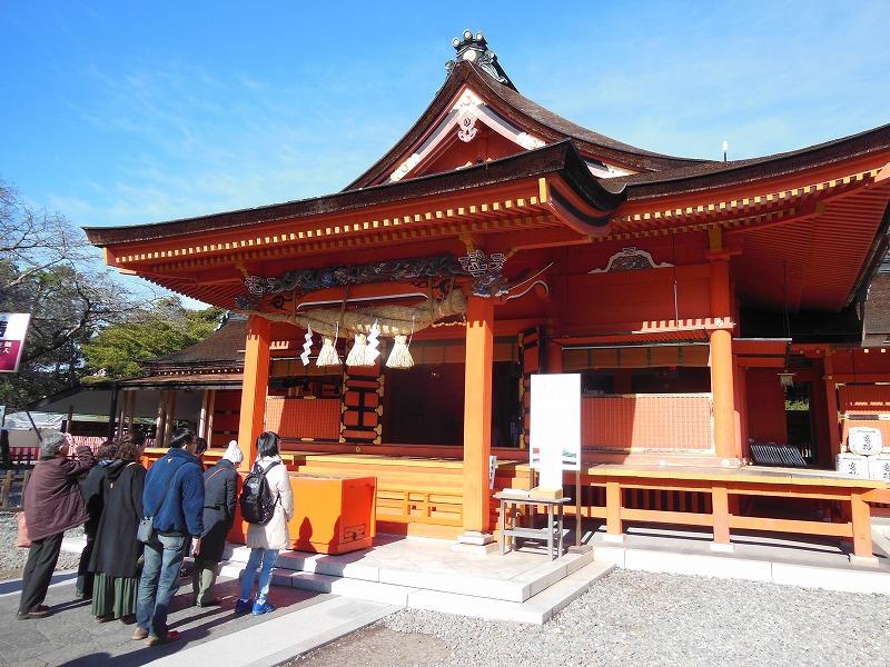 徳川家康が寄進した、浅間大社の本殿