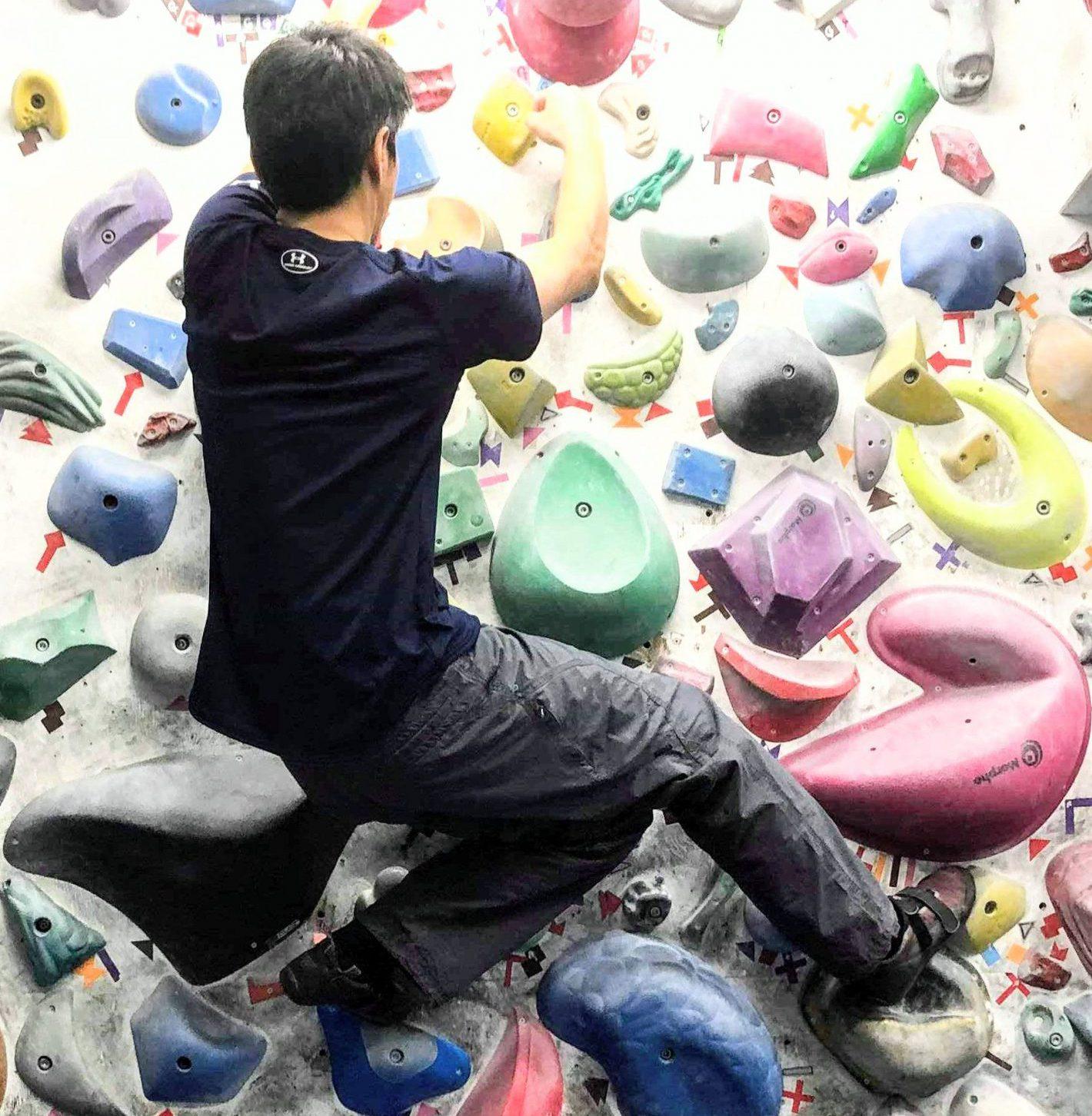 新たな趣味 ボルダリング