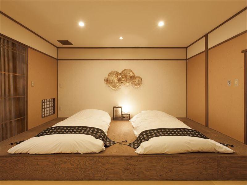 川治温泉 寿庵 庭園側客室