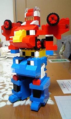 レゴでつくったロボット(シンプルバージョン)