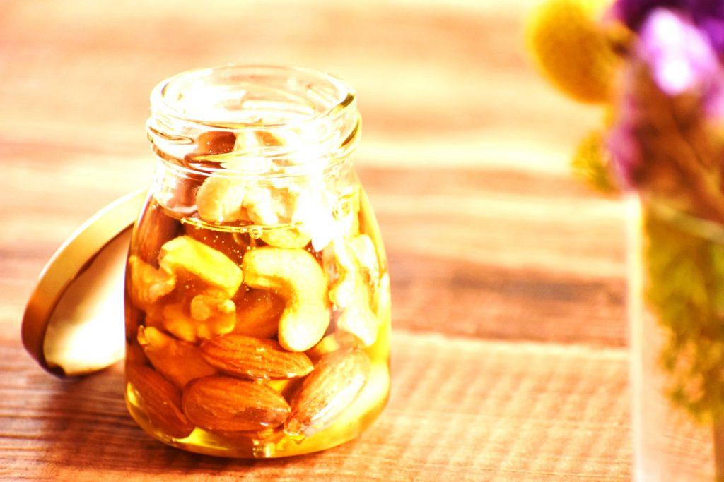 カシューナッツのハチミツ漬