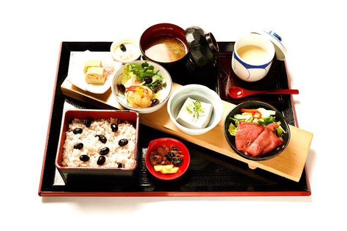 道の駅「京丹波 味夢の里」の丹波里山レストラン Bonchi 黒豆づくし(イメージ)