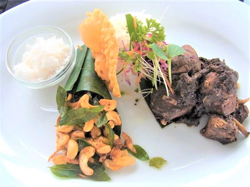 カシューナッツを使ったスリランカ料理