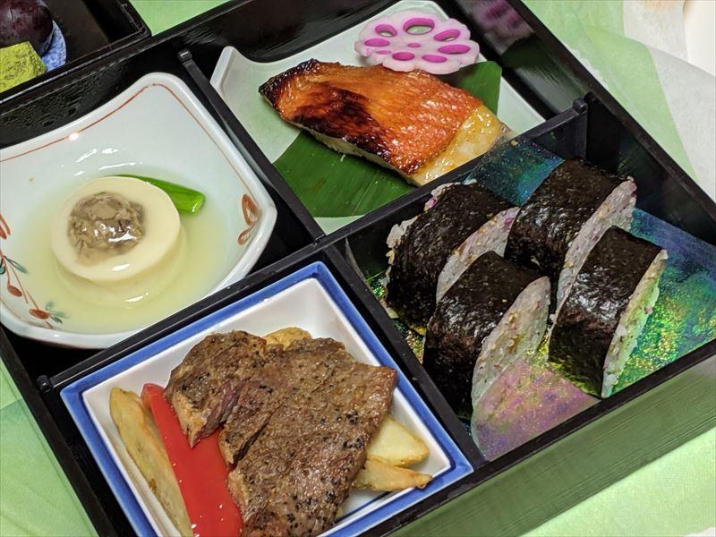 ラフォーレ修善寺の部屋食