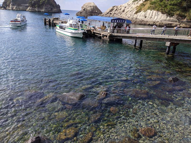 西伊豆の海 堂ヶ島