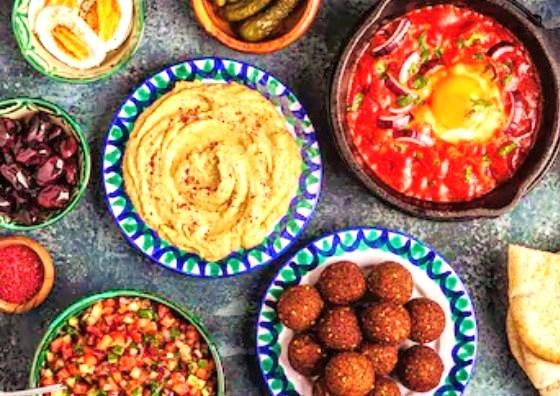 イスラエル料理(イメージ)