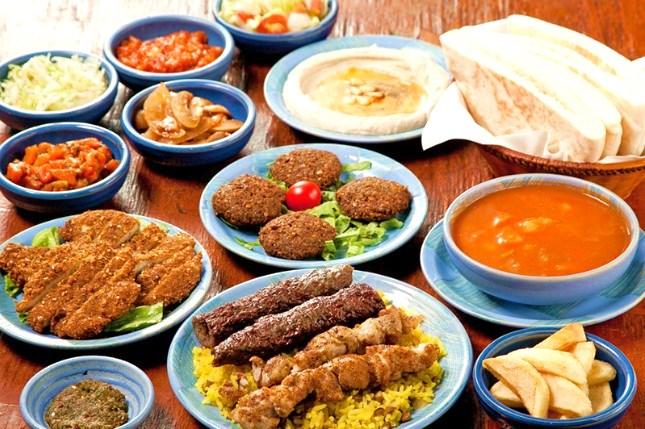 イスラエル料理シャマイム 食べ放題メニュー