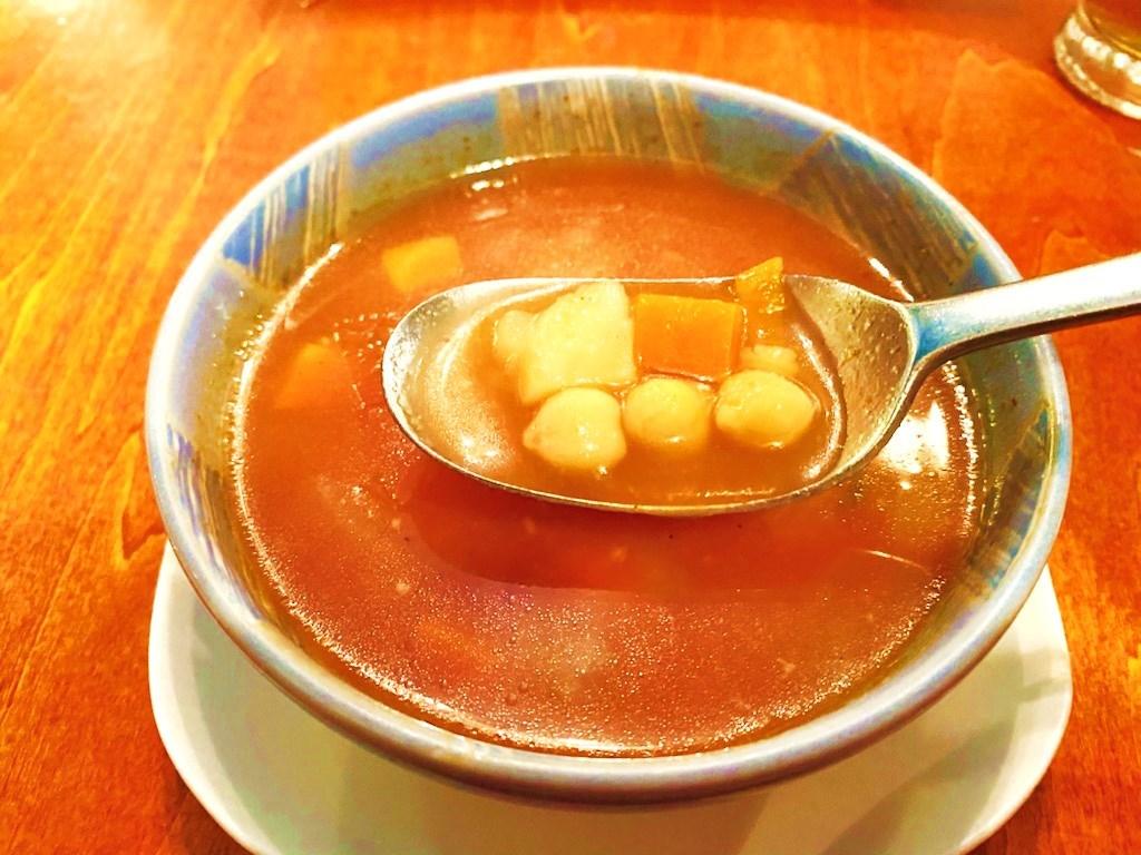 イスラエル料理シャマイム ひよこ豆のスープ