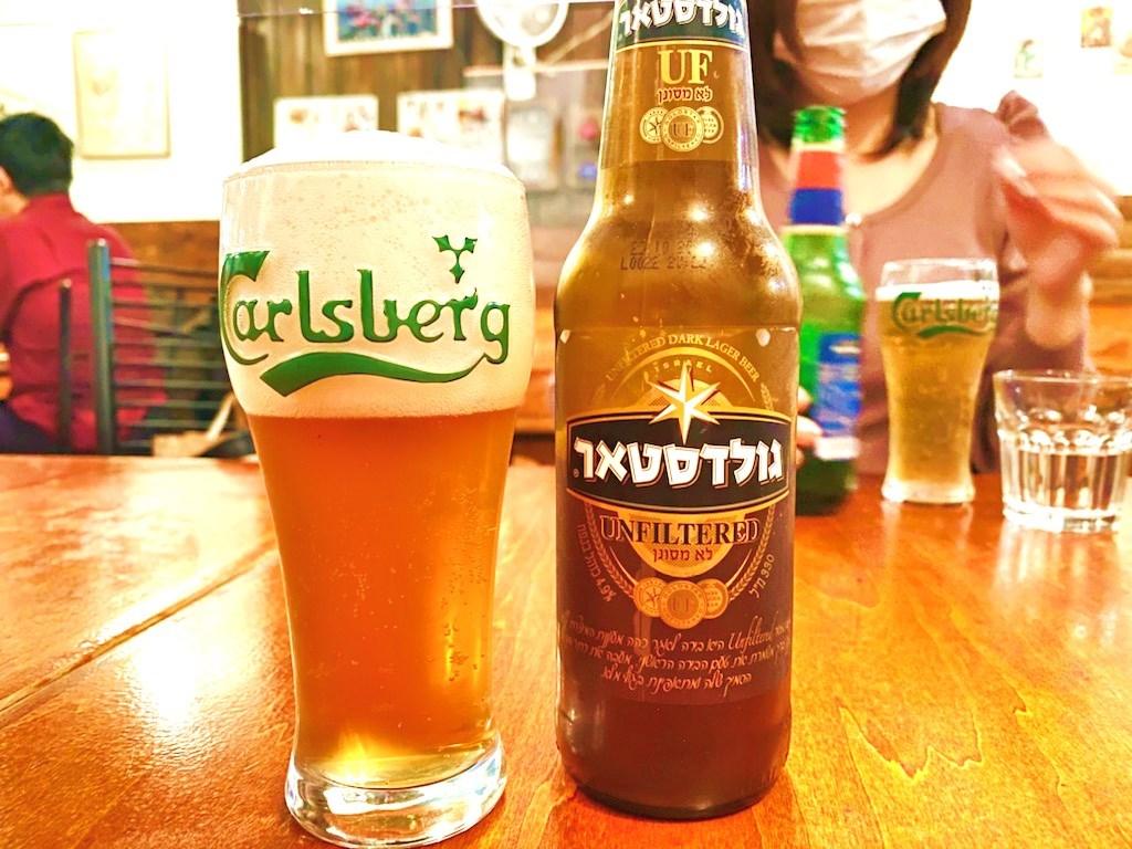 イスラエル料理シャマイム ビール