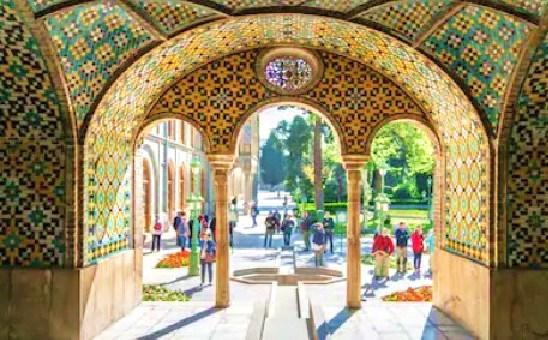 イラン ゴレスターン宮殿