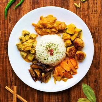 キッチンカー スリランカカレー(イメージ)